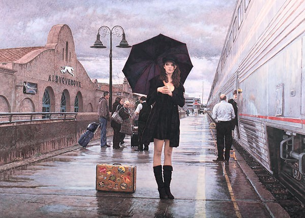 Steve Hanks There Are Places to Go  Giclee On Paper Artist Proof