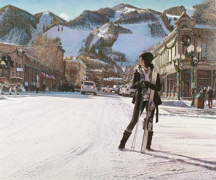 Steve HanksAspen WinterCanvas