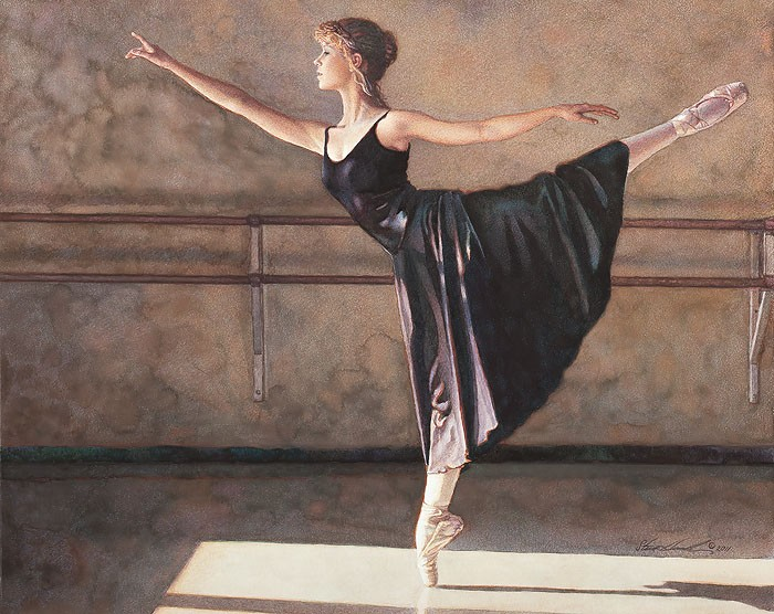 Steve Hanks In the Spotlight of the Sun Limited Edition Print