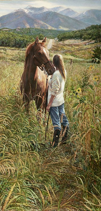Steve Hanks Field of Dreams Canvas