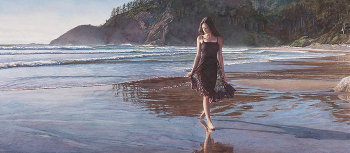 Steve Hanks Northwest Coastline Canvas