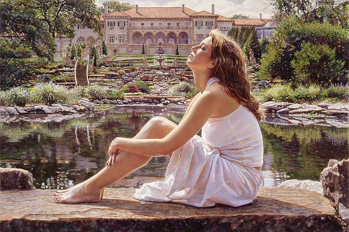 Steve Hanks To Believe Canvas