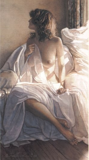 Steve Hanks Yesterday is a Long Time Ago Lithograph