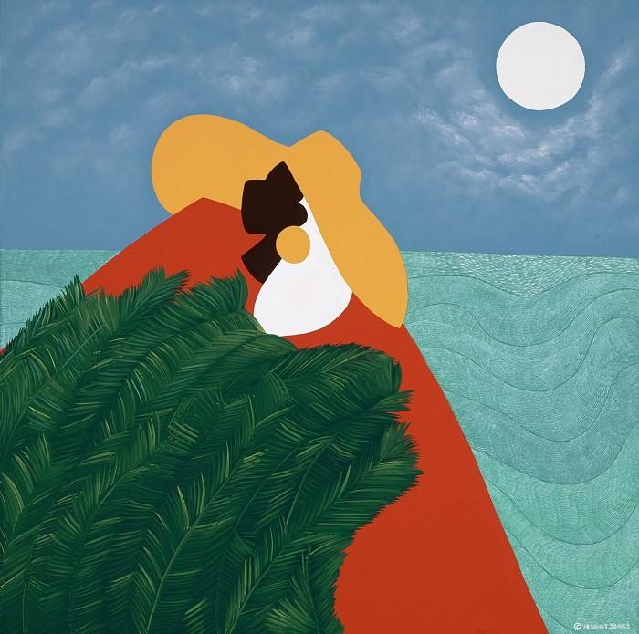 Synthia SAINT JAMESHigh Priestess HaitiGiclee On Canvas