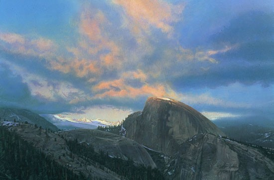 Stephen Lyman LAST TOUCH OF LIGHT Giclee On Canvas