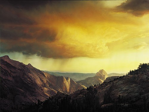 Stephen Lyman STORM OVER TENAYA CANYON Canvas