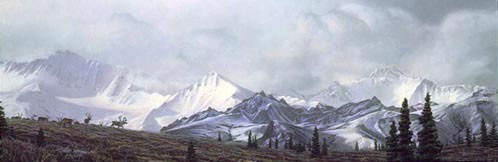 Stephen Lyman IN THE HEART OF ALASKA Limited Edition Print