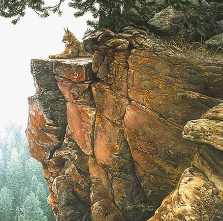 Stephen Lyman ABOVE THE FOREST Limited Edition Print