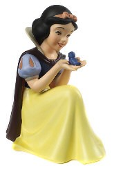 WDCC Disney Classics Snow White Won't You Smile For Me - With Lithograph