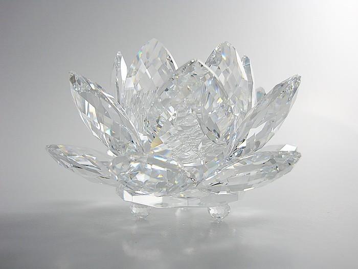 Swarovski CrystalSwarovski Waterlily Candleholder Medium