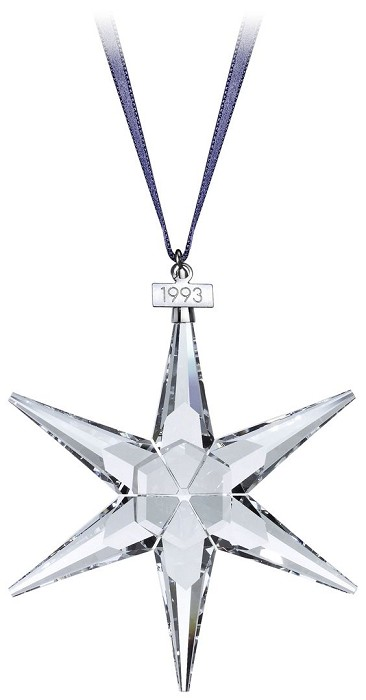 Swarovski Crystal 1993 Swarovski Star Ornament