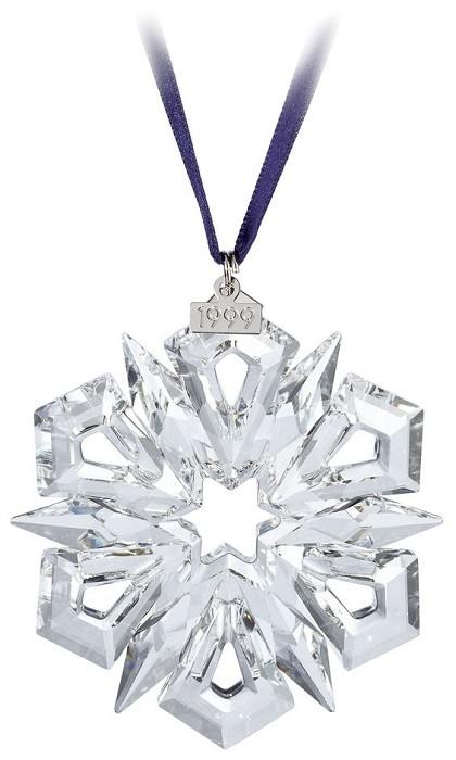 Swarovski Crystal1999 Swarovski Snowflake Ornament