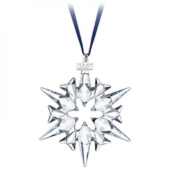 Swarovski Crystal Annual 2007 Ornament