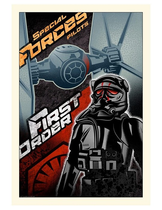 Mike Kungl First Order From Lucas Films Star Wars Giclee On Canvas