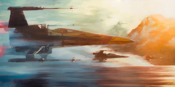 Christopher ClarkX-Wings of ResistanceGiclee On Canvas
