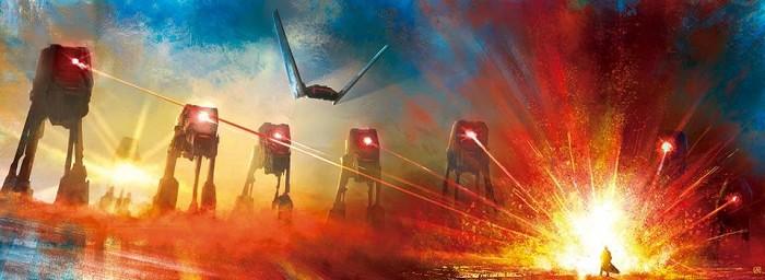AkirantFace the Dark SideGiclee On Canvas