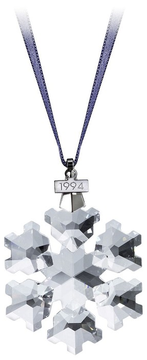 Swarovski Crystal1994 Swarovski Snowflake Ornament