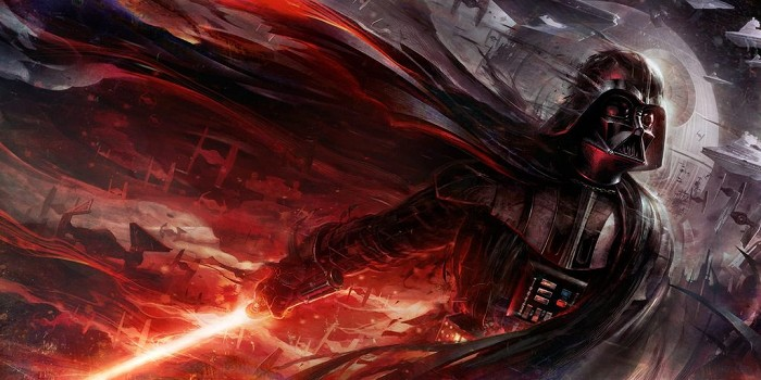 Raymond Swanland Conquering Shadow Giclee On Canvas
