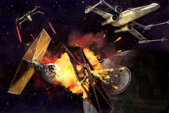 Cliff Cramp Dogfight Giclee On Canvas