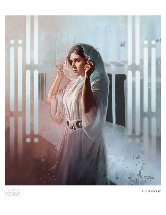 Brian Rood The Princess Giclee On Canvas
