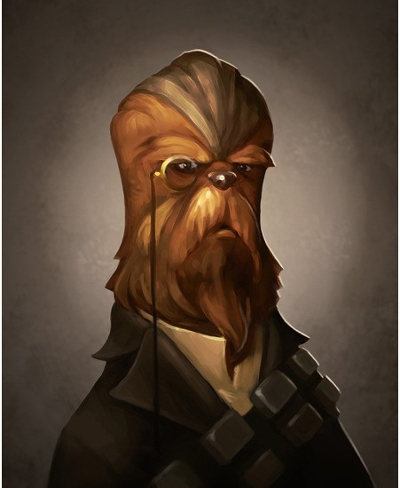 Greg PeltzFirst Mate From Lucas Films Star Wars Printers ProofGiclee On Canvas