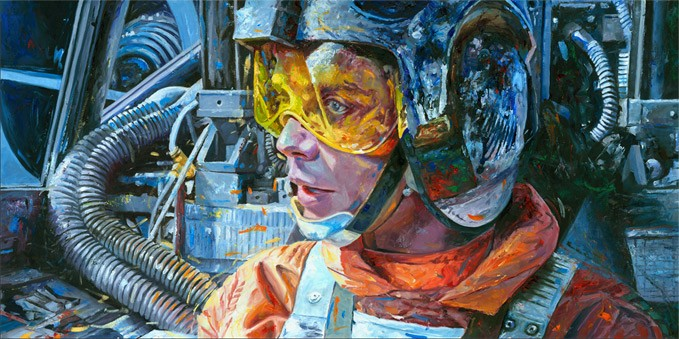 William Silvers Rebel Pilot Giclee On Canvas