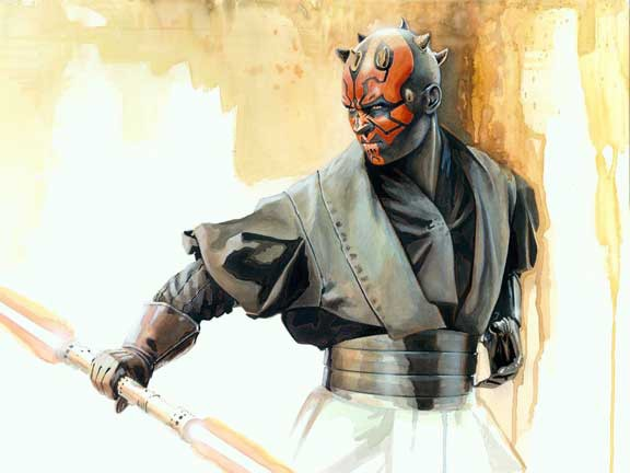Brian Rood Jedi Slayer Giclee On Canvas