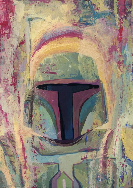Rich PellegrinoThe Boba FettGiclee On Canvas