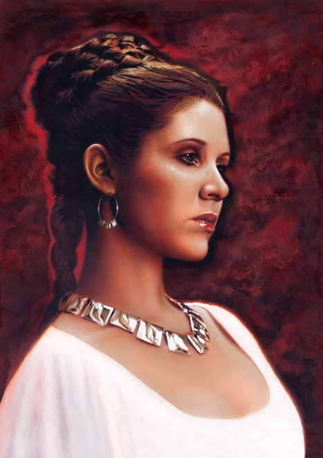Jerry Vanderstelt Tears for Alderaan Giclee On Canvas