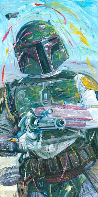 William SilversA Good Day to DieGiclee On Canvas