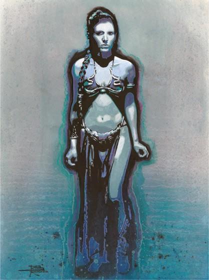 Brian RoodRestrainedGiclee On Canvas