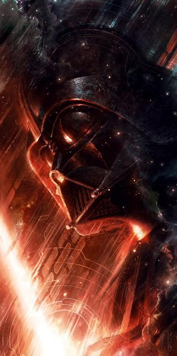 Raymond SwanlandForged in Darkness From Lucas Films Star WarsGiclee On Canvas