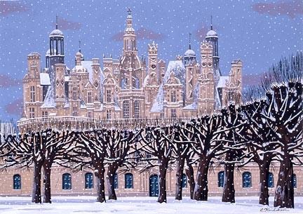 Liudmila KondakovaChambord Snowfall