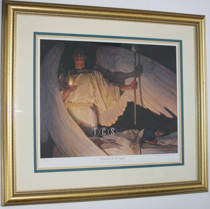 Thomas Blackshear II Watchers In The Night Limited Edition Print (framed)