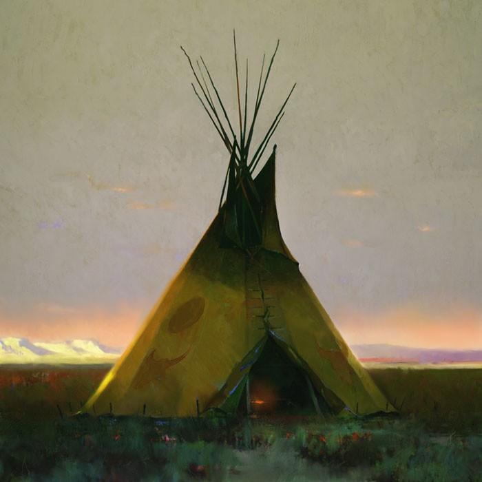 R. Tom GilleonWhere the West BeginsCanvas