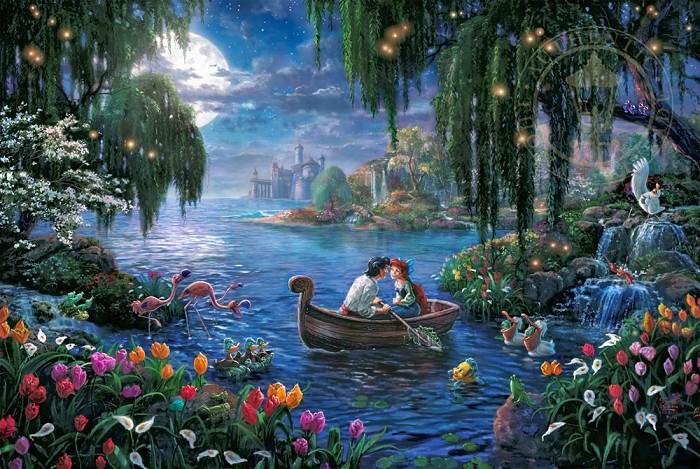 Thomas Kinkade DisneyThe Little Mermaid IIGiclee On Paper