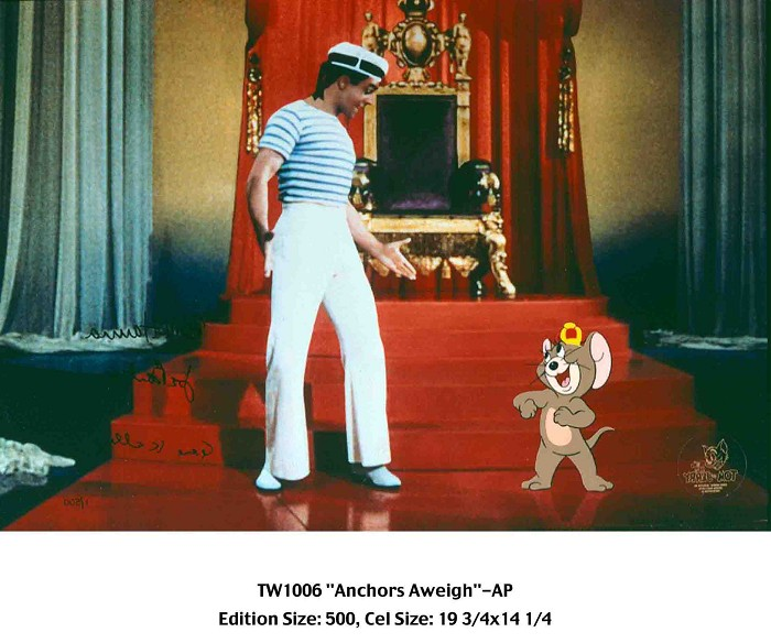 Hanna & BarberaAnchors AweighHand-Painted Limited Edition Cel