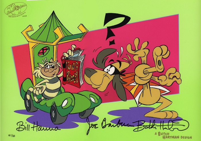 Hanna & Barbera Knot For Beginners Hand-Painted Limited Edition Cel