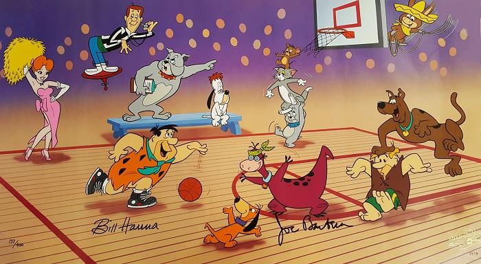 Hanna & BarberaFast BreakHand-Painted Limited Edition Cel