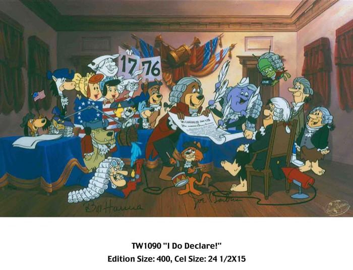 Hanna & BarberaI Do DeclareHand-Painted Limited Edition Cel