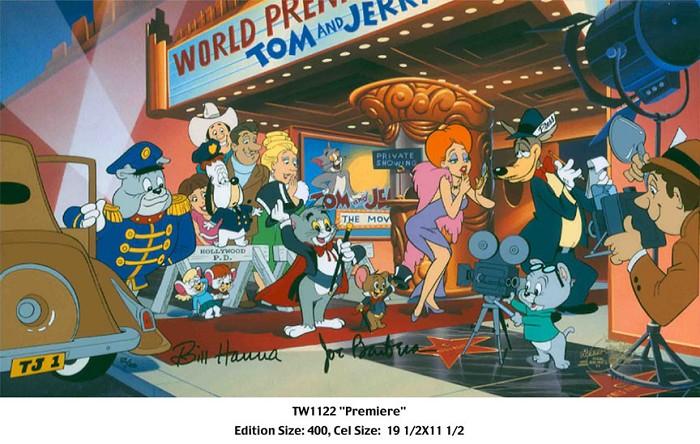 Hanna & BarberaThe PremiereHand-Painted Limited Edition Cel