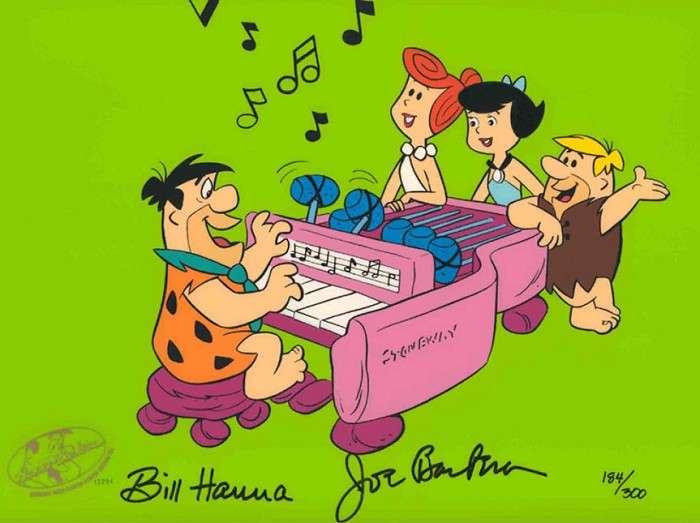 Hanna & BarberaStoneaway From The FlintstoneHand-Painted Limited Edition Cel