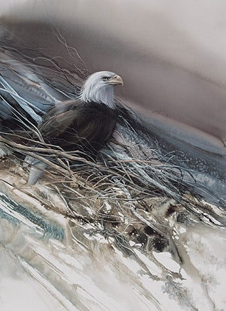 Lee Bogle The Noble One Artist Proof Hand Enhanced Giclee On Canvas