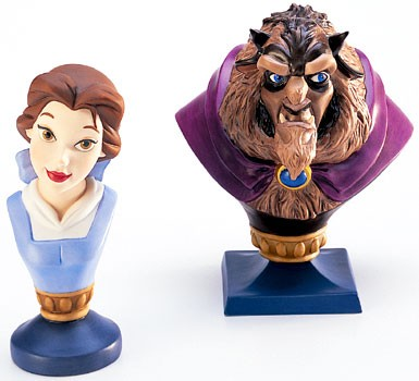 WDCC Disney Classics Beauty And The Beast Belle And  Beast