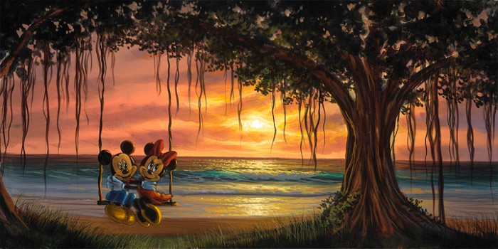 Walfrido Garcia Banyan Swing Giclee On Canvas