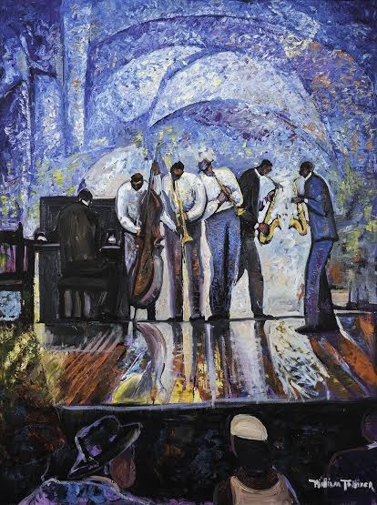 William Tolliver Grand Finale Estate Certified Giclee On Canvas