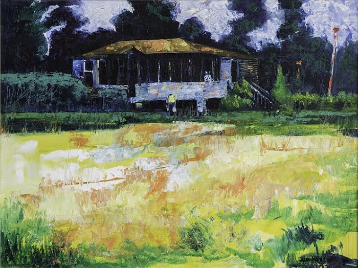 William Tolliver Grandma's House Estate Certified Giclee On Canvas