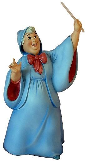 WDCC Disney ClassicsCinderella Fairy Godmother Bibbidi Bobbidi Boo
