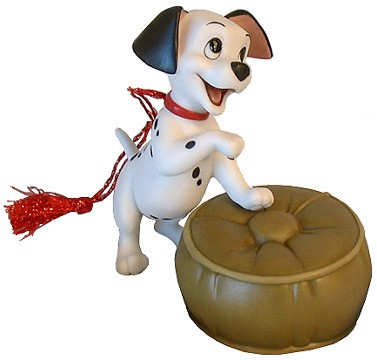 WDCC Disney ClassicsOne Hundred and One Dalmatians Lucky Dalmatian Ornament (event)