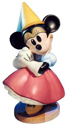 WDCC Disney ClassicsBrave Little Taylor Minnie Mouse Princess Minnie